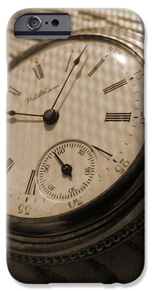 The Pocket Watch iPhone Case by Mike McGlothlen