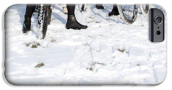 Racing iPhone Cases - The Polar Bear Run iPhone Case by Steven  Digman