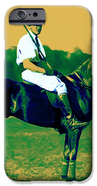 The Polo Player - 20130208 iPhone Case by Wingsdomain Art and Photography