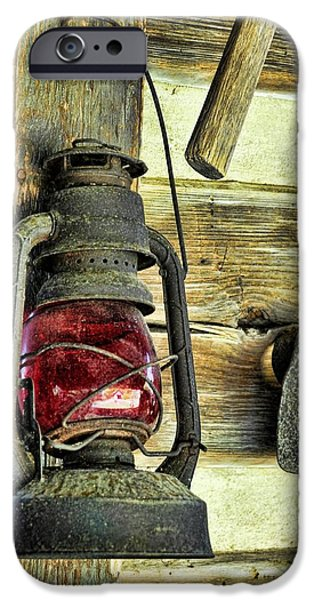 The Porch Light iPhone Case by Jan Amiss Photography