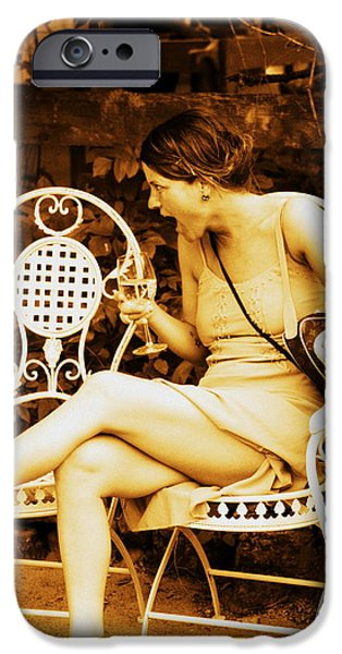 Wine Legs iPhone Cases - Sister iPhone Case by Sarah Bergan
