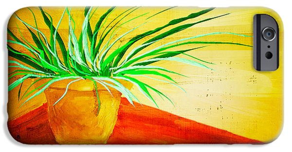 Crocks iPhone Cases - The Pot Plant iPhone Case by Brenda Bryant
