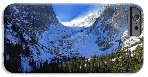 Northern Colorado iPhone Cases - The Power and the Glory iPhone Case by Eric Glaser