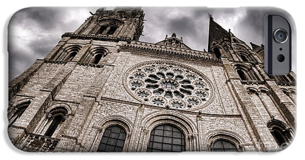 Allegoric iPhone Cases - The Power of the Church iPhone Case by Olivier Le Queinec