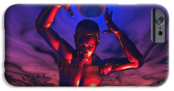 Cyberspace iPhone Cases - The Power To Store Infinite Knowledge iPhone Case by Mark Stevenson