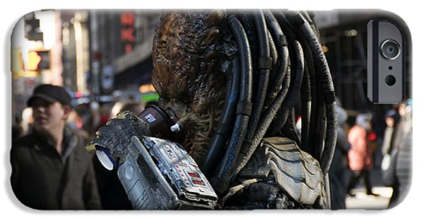 Recently Sold -  - Strange iPhone Cases - The Predator iPhone Case by Shawn  Wixted