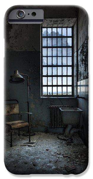 Recently Sold -  - Haunted House iPhone Cases - The Private Room - Abandoned Asylum iPhone Case by Gary Heller