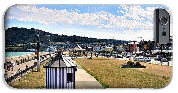 Architectur iPhone Cases - The Promenade in Bray Ireland iPhone Case by Frazer Ashford