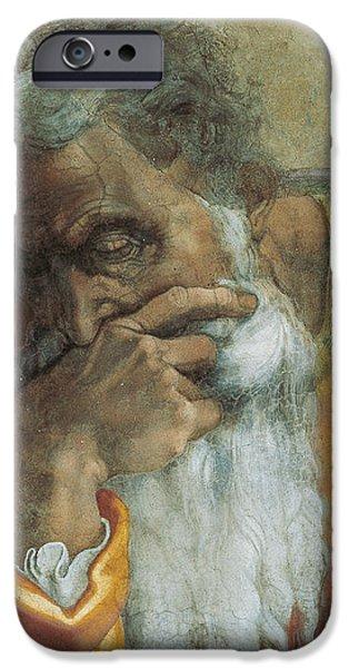 The Prophet Jeremiah iPhone Case by Michelangelo