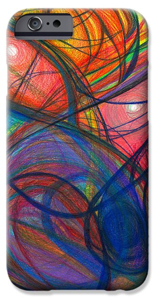 The Pulse of the Heart Lies Strong iPhone Case by Daina White