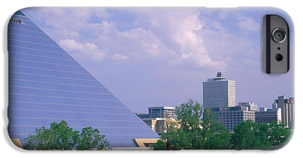 Tn iPhone Cases - The Pyramid Memphis Tn iPhone Case by Panoramic Images
