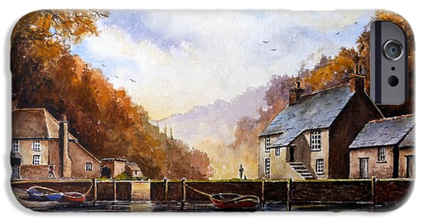 Award Winning Art iPhone Cases - The Quiet Life Pont Cornwall iPhone Case by Andrew Read