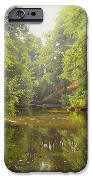 The Quiet River iPhone Case by Peder Monsted