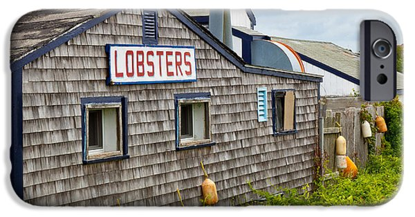 Lobster Shack iPhone Cases - The Quintessential Lobster Experience iPhone Case by Michelle Wiarda
