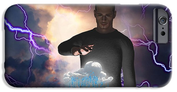 Power iPhone Cases - The Rainmaker iPhone Case by Bruce Rolff