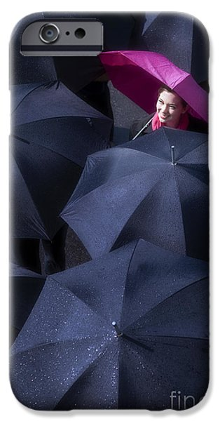 Rain iPhone Cases - The Rains Over iPhone Case by Diane Diederich