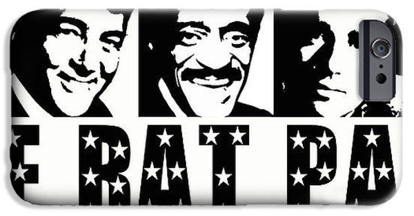 David iPhone Cases - The Rat Pack iPhone Case by David G Paul