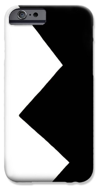 Modernart iPhone Cases - The RaZors Edge iPhone Case by Jeremy Petrachonis