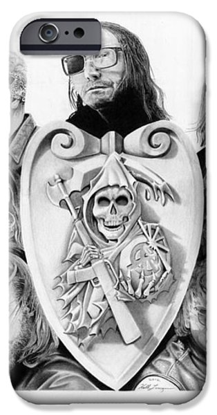 The Reaper Crew iPhone Case by Keith Larocque