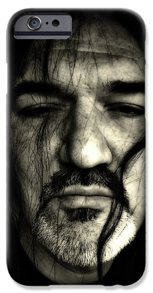 White Beard iPhone Cases - The Rebel iPhone Case by Mountain Dreams