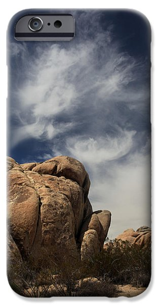 Rock Formation iPhone Cases - The Reclining Woman iPhone Case by Laurie Search
