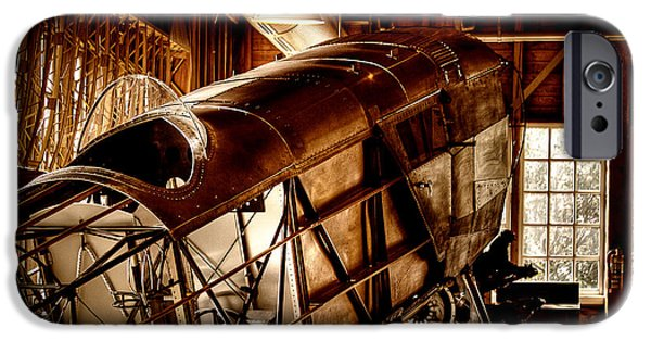 Flight iPhone Cases - The Red Barn of the Boeing Company II iPhone Case by David Patterson