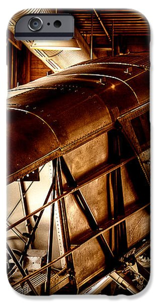 The Red Barn of the Boeing Company II iPhone Case by David Patterson