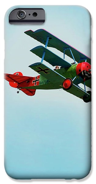 The Red Baron iPhone Case by Thomas Young