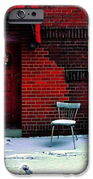 The Red Door iPhone Case by Amy Cicconi