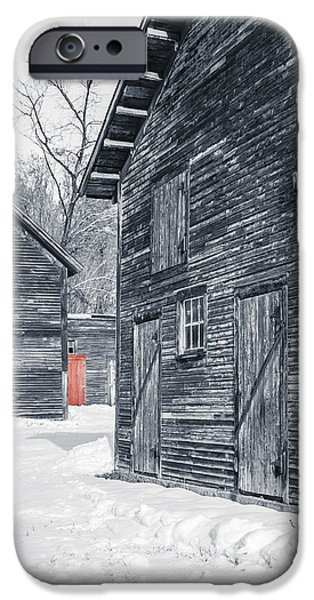 Windsor iPhone Cases - The Red Door iPhone Case by Edward Fielding