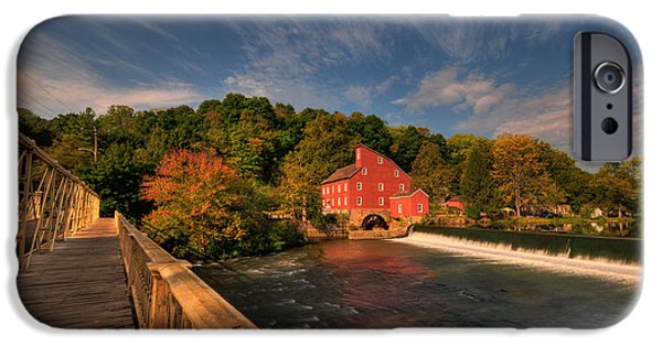 Franklin iPhone Cases - The Red Mill iPhone Case by Paul Ward