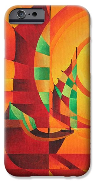 The Red Sea iPhone Case by Tracey Harrington-Simpson
