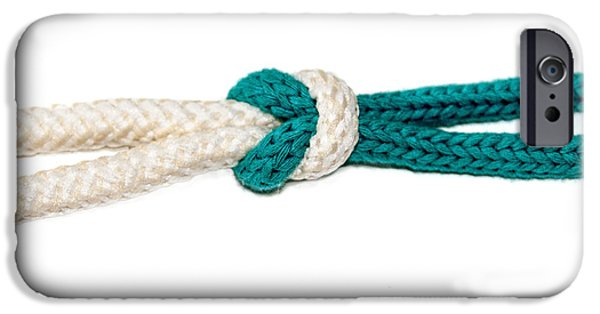 Bonding iPhone Cases - The Reef or Square Knot  iPhone Case by Ilan Rosen