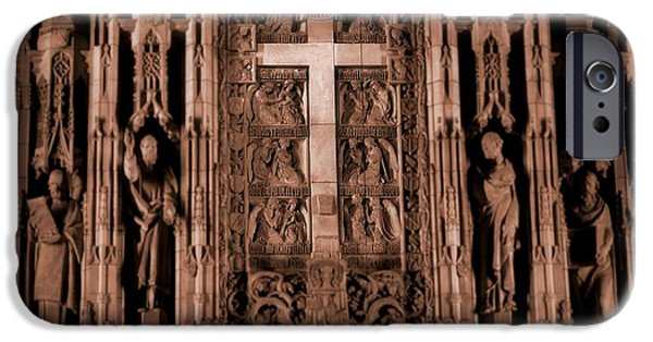 Miracle iPhone Cases - The Renaissance Cross In Church iPhone Case by Dan Sproul