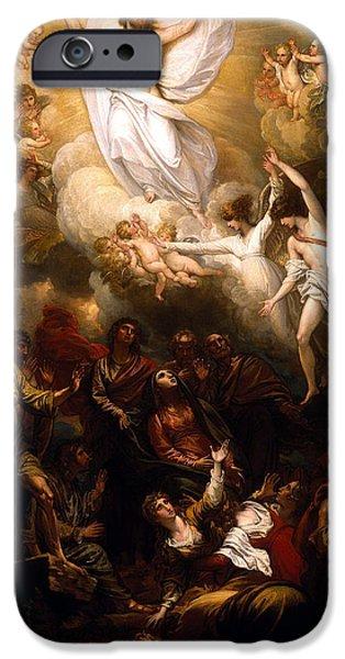 The Resurrection iPhone Case by Munir Alawi