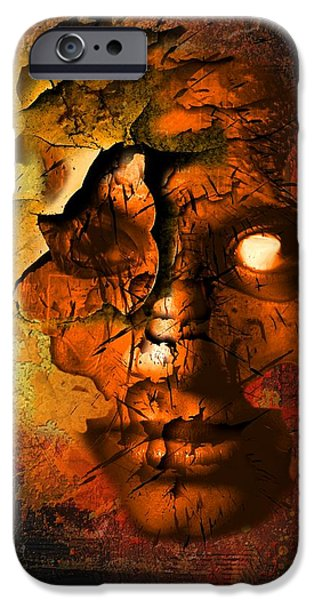The Resurrection of Doom iPhone Case by Franziskus Pfleghart