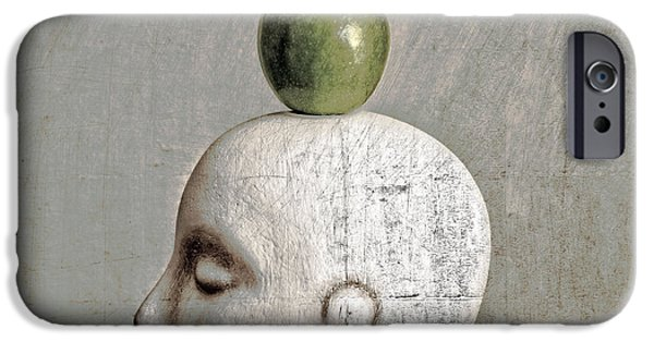 Playful Digital iPhone Cases - The Return Of William Tell iPhone Case by Jeff  Gettis