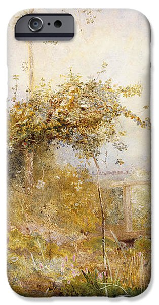 The Return from the Harvest Field iPhone Case by John William North