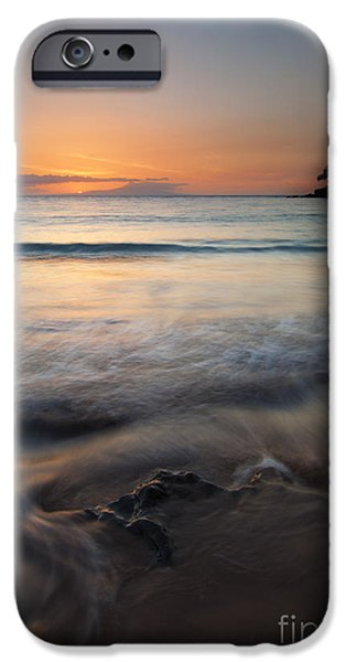 Ocean Sunset iPhone Cases - The Rise and Fall iPhone Case by Mike  Dawson
