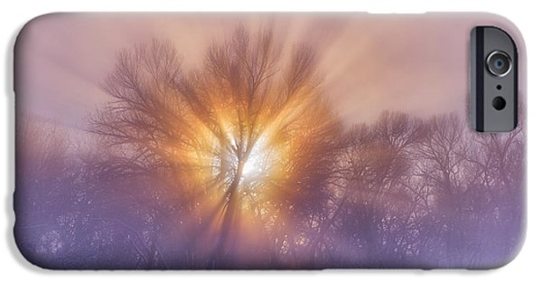 Morning iPhone Cases - The Rising iPhone Case by Darren  White