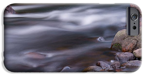 River iPhone Cases - The River Flows 3 iPhone Case by Mike McGlothlen