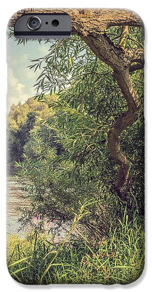 The River Severn at Buildwas iPhone Case by Amanda And Christopher Elwell