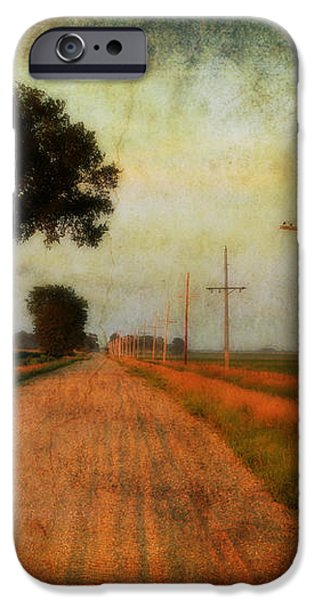 The Road Home iPhone Case by Julie Hamilton