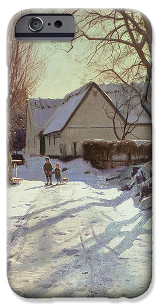 The Road Home iPhone Case by Peder Monsted