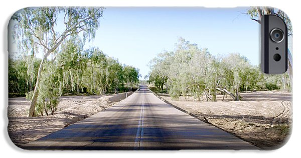 Charters iPhone Cases - The Road to Back of Beyond iPhone Case by Holly Kempe