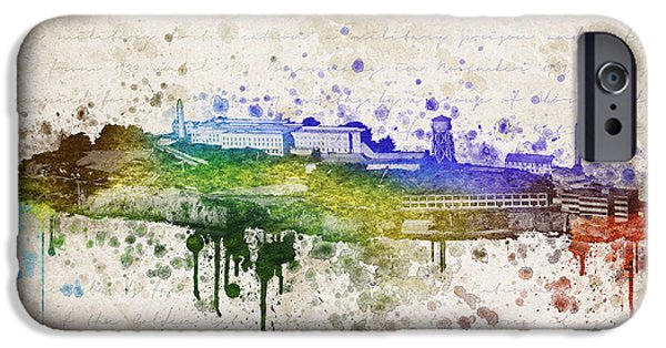 The Houses Mixed Media iPhone Cases - The Rock iPhone Case by Aged Pixel