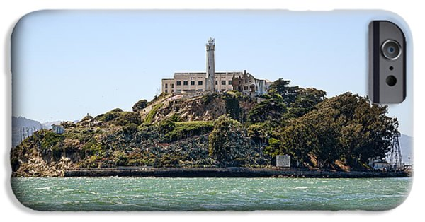 Alcatraz iPhone Cases - The Rock iPhone Case by Kelley King
