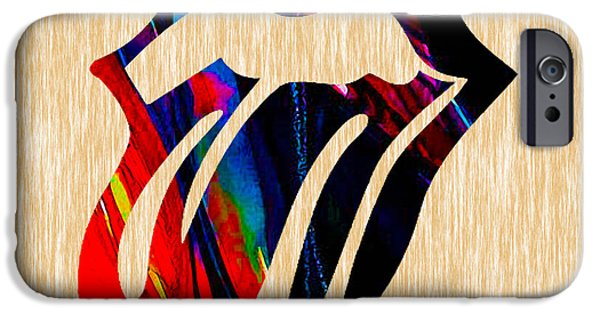 Rolling Stones iPhone Cases - The Rolling Stones Sticky Fingers iPhone Case by Marvin Blaine