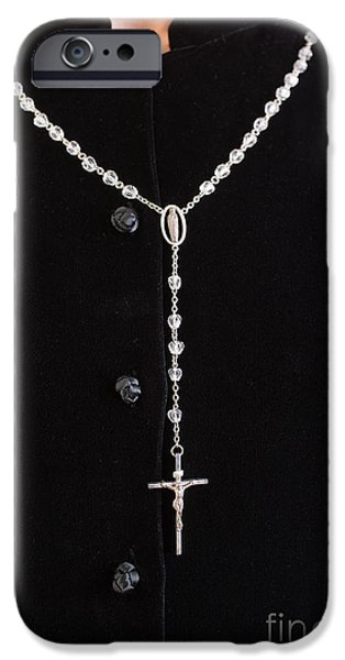 The Rosary iPhone Case by Edward Fielding