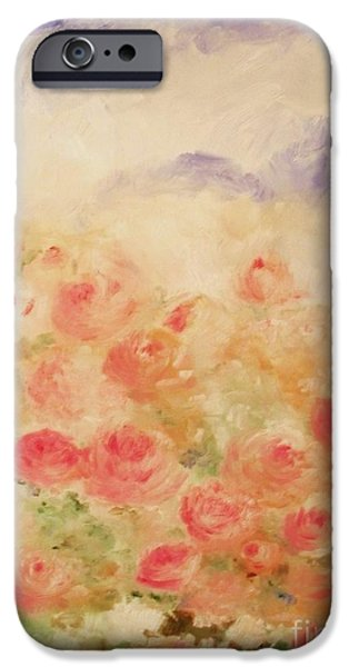 The Rose Bush iPhone Case by Laurie D Lundquist